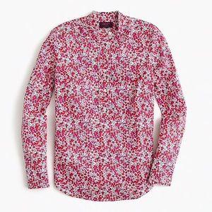 J. Crew Tops - J. CREW x Liberty Wiltshire Floral Popover Blouse